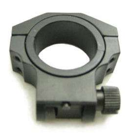 RUGER SCOPE RING LOW BLACK 30MM / 1 NCSTAR# RUB26