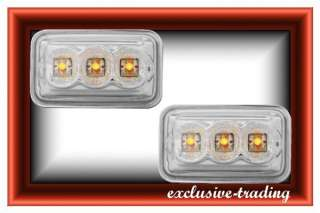 VW Golf 2 LED Seitenblinker Blinker Chrom TuNiNg #865