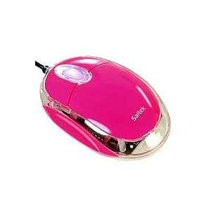 Saitek Notebook Optische Maus pink  Computer & Zubehör