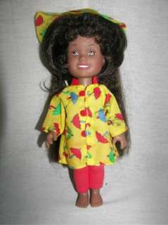 PLAYSKOOL African American DOLLY SURPRISE 1987 Grow Hair Black Doll