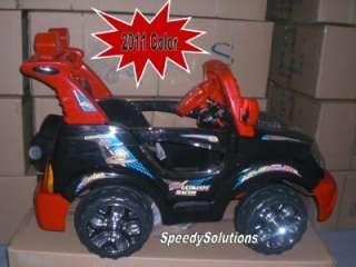mph New Kids Ride On Radio Remote Control Power Truck SUV Wheels Car
