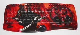 Star Wars USB Tastatur viele Hotkeys Meister Darth Maul Rot Entryx NEU