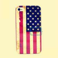RETRO DESIGN THE United States US USA FLAG HARD CASE COVER FOR iPhone