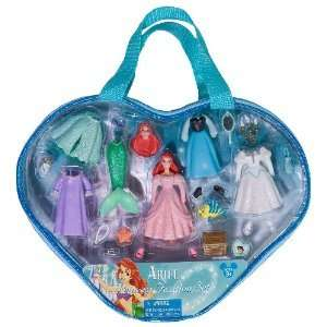 NEW Disney Ariel Little Mermaid Mini fashion doll set