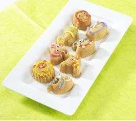 NORDIC WARE 82224 ZOO ANIMAL CAKE / MUFFIN PAN