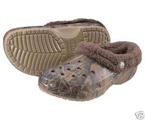 Crocs MAMMOTH Infant Toddler 6 7 Camo Mossy Oak NEW NWT