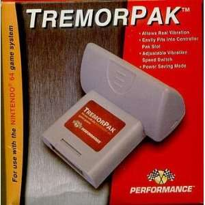 Tremorpak Rumble fuer Nintendo 64 (N64)  Games