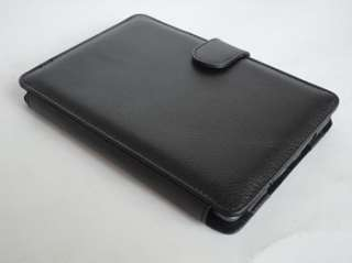 LEATHER CASE COVER WITH LIGHT FOR  KINDLE 4 4TH LATEST MODEL