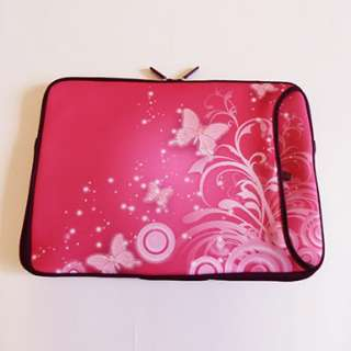 15.6 15 Laptop Sleeve Case Bag Pouch Neoprene Double Zip Double Side