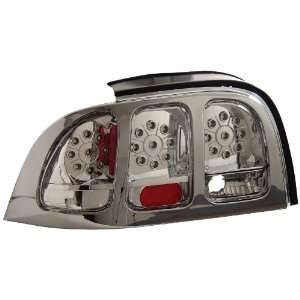 Anzo USA 321022 Ford Mustang Chrome LED Tail Light Assembly   (Sold in