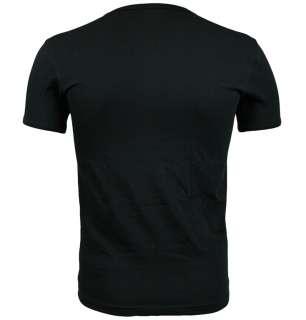 Emporio Armani 110886 1S515 Mens T Shirt SS11 Black