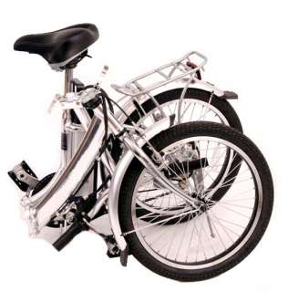 Power city Light Folding 20 Electric Bicycle Bike