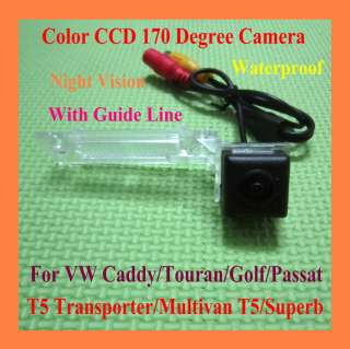 CCD CAMERA DE RECUL VW Touran Passat Jetta Caddy Golf