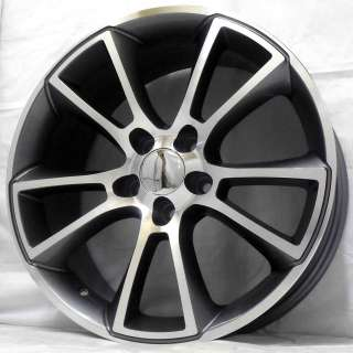 18 VAUXHALL VECTRA VXR 02 GUNMETAL POLISHED ALLOY WHEELS 5x110