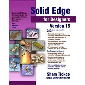 Solid Edge for Designers Version 15 (9781932709018) Sham