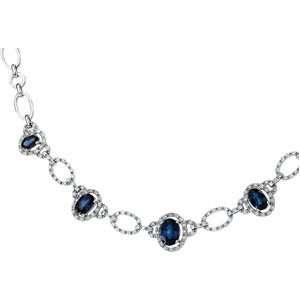 TW Semi/16.00 Inch 14K White Gold Diamond Necklace Semi Mount Jewelry