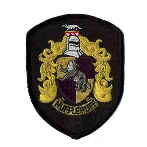 Harry Potter Hufflepuff Crest Patch   Version 1
