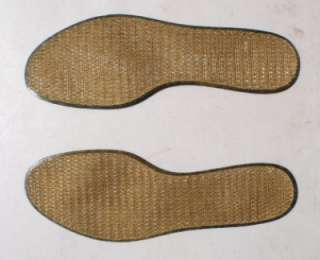 British Army Insoles (washable plastic / fabric faced)
