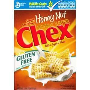 General Mills Chex Cereal, Honey Nut: Grocery & Gourmet Food