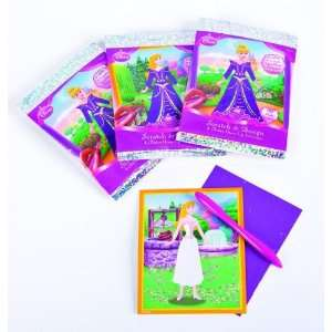 4 Piece Disney Princess Scratch/Design Case Pack 3