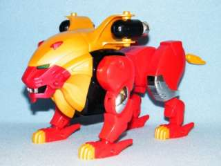 POWER RANGERS WILD FORCE DELUXE LARGE RED LION PEGASUS RARE