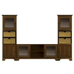 Pennington Owen Entertainment Cabinet by Howard Miller: Home & Kitchen