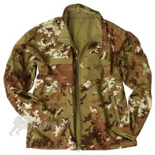 Military 1st   SOFT SHELL WINDPROOF MENS JACKET VEGETATO CAMO S 3XL