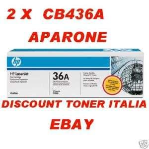 TONER CB436A HP LASERJET P1505 M1120 M1522 COMPAT