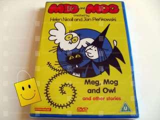 MEG AND MOG VOL 1 (DVD) *NEW SEALED* (ANIMATED) 5060049140971