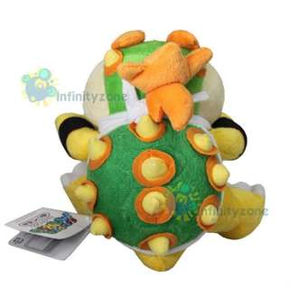 Nintendo Wii Super Mario Bros 7 Bowser Jr Plush Figure