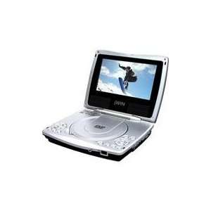 JWin JDVD 760 7 TFT LCD Portable DVD Player: MP3 Players