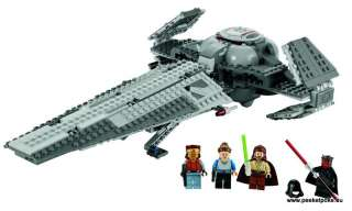 LEGO 7961 STAR WARS DARTH MAULS SITH INFILTRATOR
