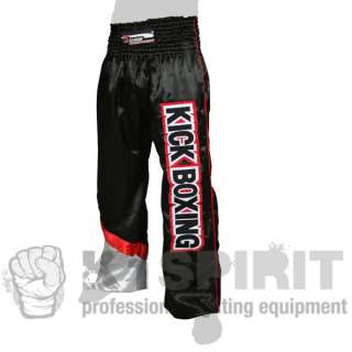 DANGER PANTALONI KICK BOXING FULL CONTACT STYLE NERI TG M