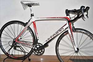 Bicicletta Olympia corsa Mod.EGO carbon Tag.M