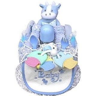 Lollipop Baby Shower Diaper Cake for Boys: Baby