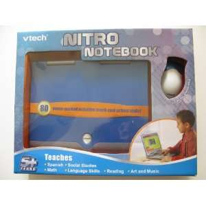 Vtech   Nitro Notebook Blue Toys & Games