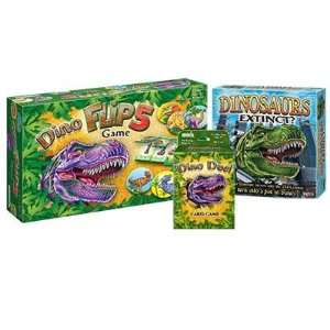 Briarpatch Dinosaurs Extinct Game Bundle Includes