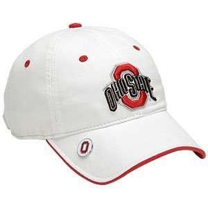 New Era Collegiate Ball Marker Twill Caps   Ohio State