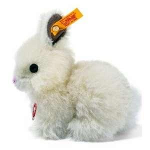 Steiff Dormili White Rabbit   Mohair, EAN 076541 Toys