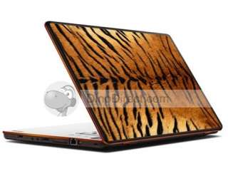 Tiger Stripe Pattern Laptop Decal Sticker Skin Cover   DinoDirect