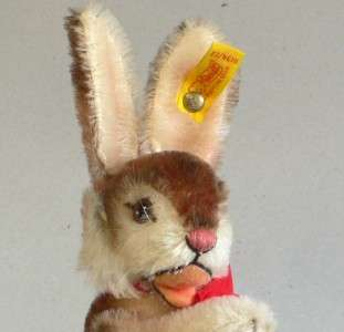 Steiff Niki 1952 Replica   Rabbit 1985 Art No 0134/22