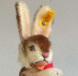 Steiff Niki 1952 Replica   Rabbit 1985 Art No 0134/22