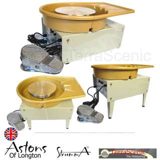 Potters Pottery Wheel Portable Floor tabletop Foot Control