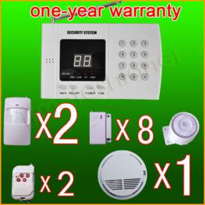 Wireless Home Security System Burglar Alarm Auto Dialer