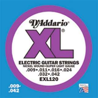 Addario XL Electric Guitar Strings EXL120   Super Light Gauge in