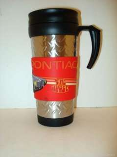 67 Pontiac GTO Judge Insulated Travel Coffee Mug Cup