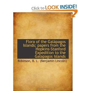 Flora of the Galápagos Islands; papers from the Hopkins