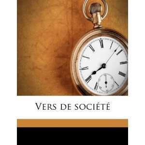 Vers de société (9781178294194): Charles H Jones: Books