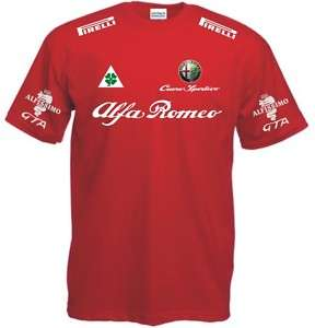 T SHIRT ALFA ROMEO maglia moto yamaha honda ducati polo