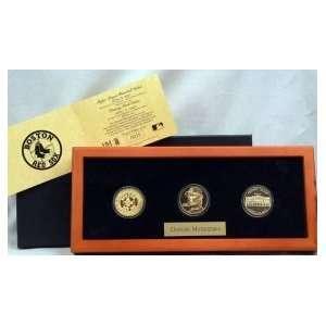 Daisuke Matsuzaka 24KT Gold 3 Coin Set: Sports & Outdoors